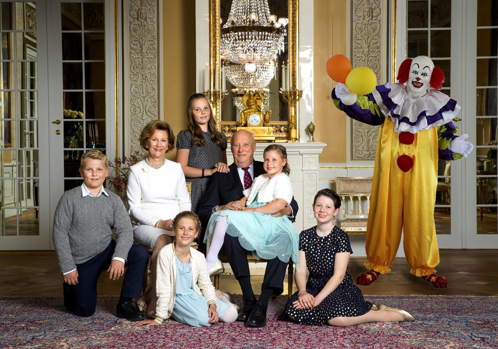 kongefamilien i oslo